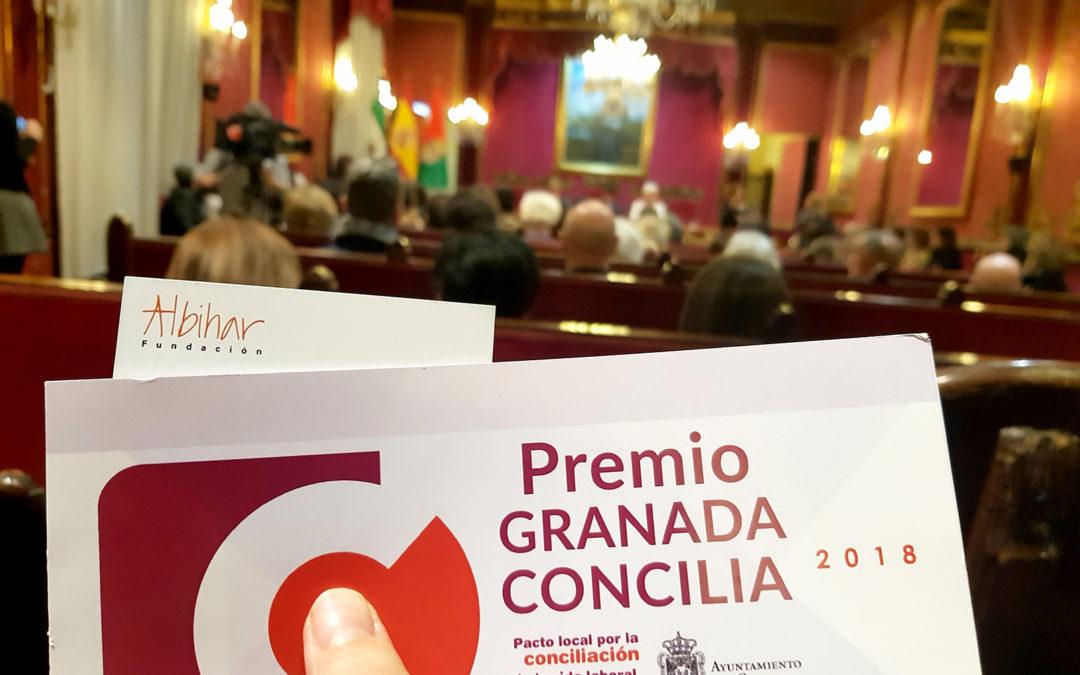 """8 de marzo: Albihar aplaude la creación de los Premios """"Granada Concilia"""""""