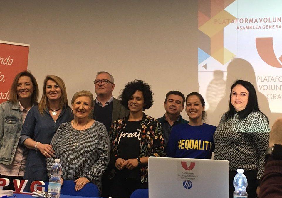 Albihar en la Junta directiva de la Plataforma de Voluntariado de Granada