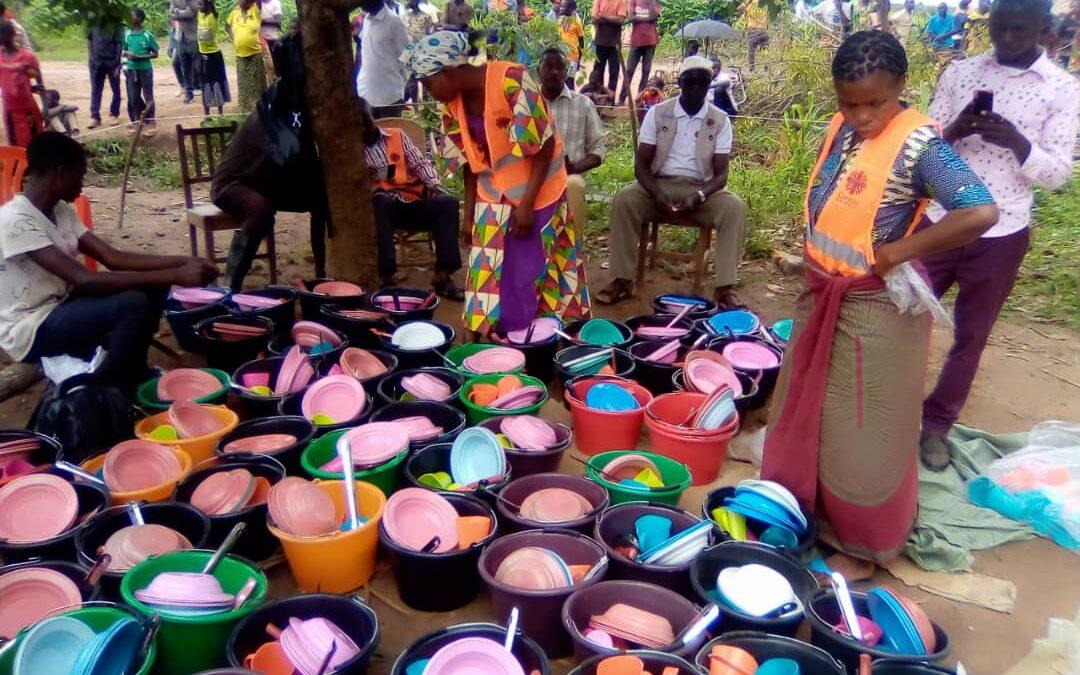 La Fundación Albihar distribuye insumos agrícolas, alimentos y kits de utensilios de cocina a 1.000 familias en Luiza, (Kasai Central) en la República Democrática del Congo