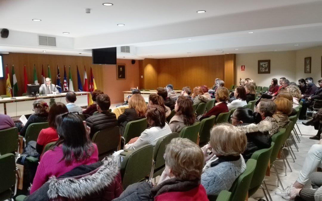 Magistral sesión de D.Luis Gutiérrez Rojas, Psiquiatra Clínico.