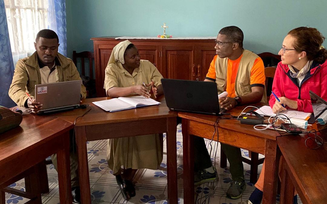 La Fundación trabaja in situ sus proyectos del Congo