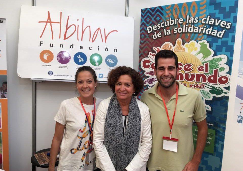 Fundación Albihar participa en las Jornadas de Recepción de Estudiantes de la Universidad de Granada (2017)