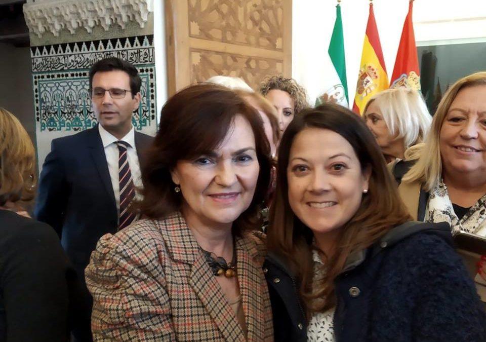 Albihar asistió ayer a la presentación del V Plan de Igualdad delAyuntamiento de Granada.
