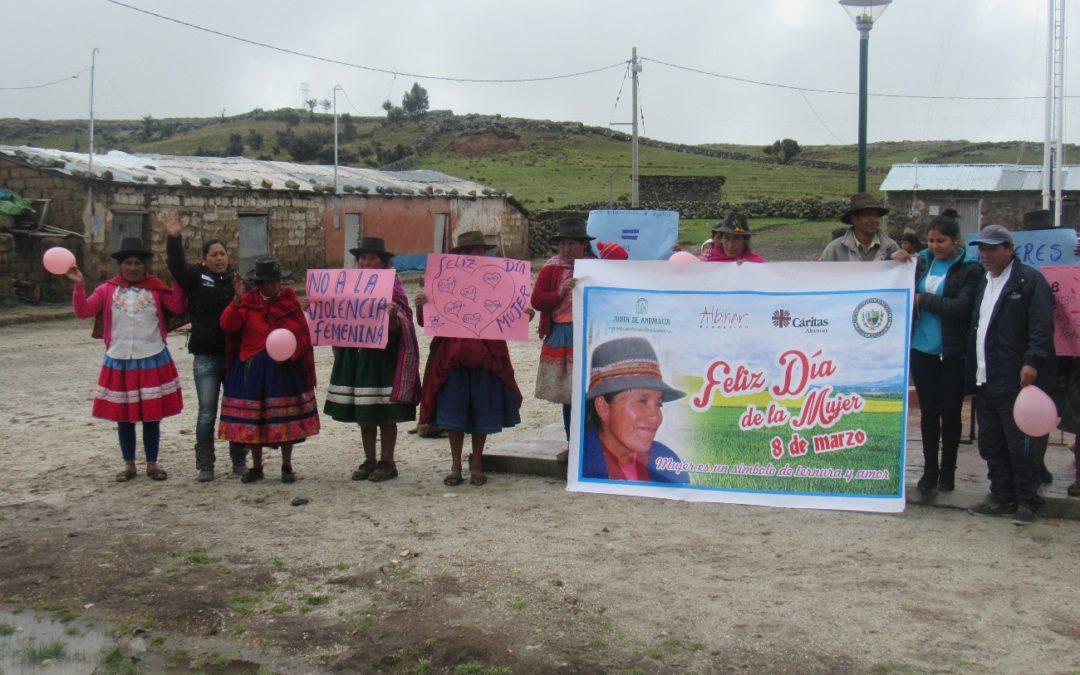"""La Fundación Albihar concluye el proyecto """"Mejora de las condiciones de vida con equidad de género de la población de la comunidad campesina de Ccochapucro, Andahuaylas. Perú"""" financiado por la Agencia Andaluza de Cooperación Internacional"""