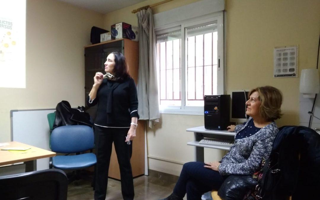 La Fundación Albihar participa en las Jornadas de Salud UGC Las Flores. Distrito Sanitario Granada Metropolitano.