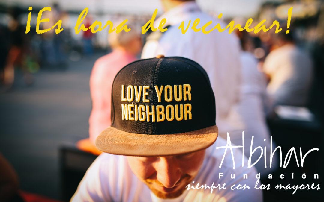 """Albihar anima a todos a """"vecinear"""""""